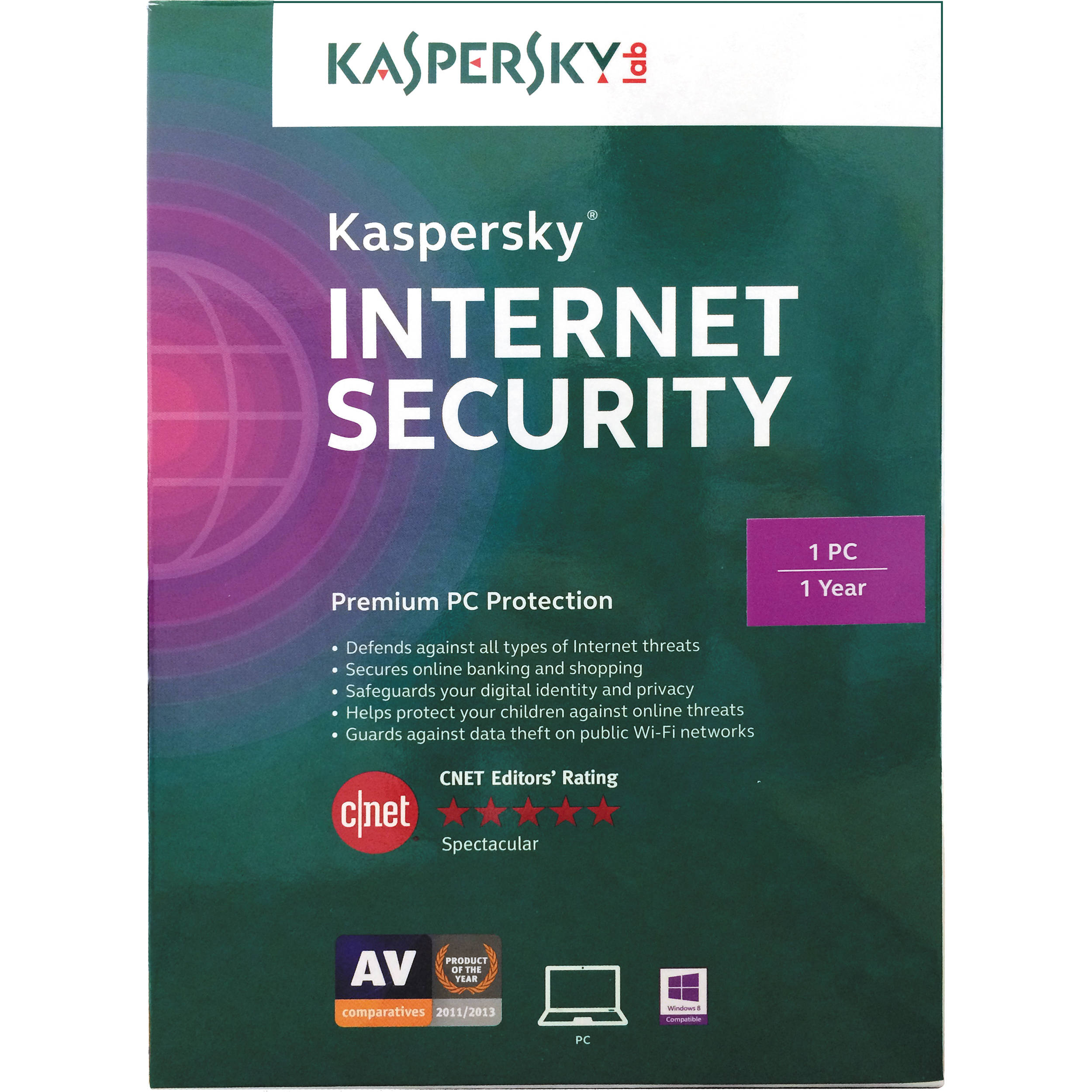 Kaspersky Internet Security cho 1PC/1Year
