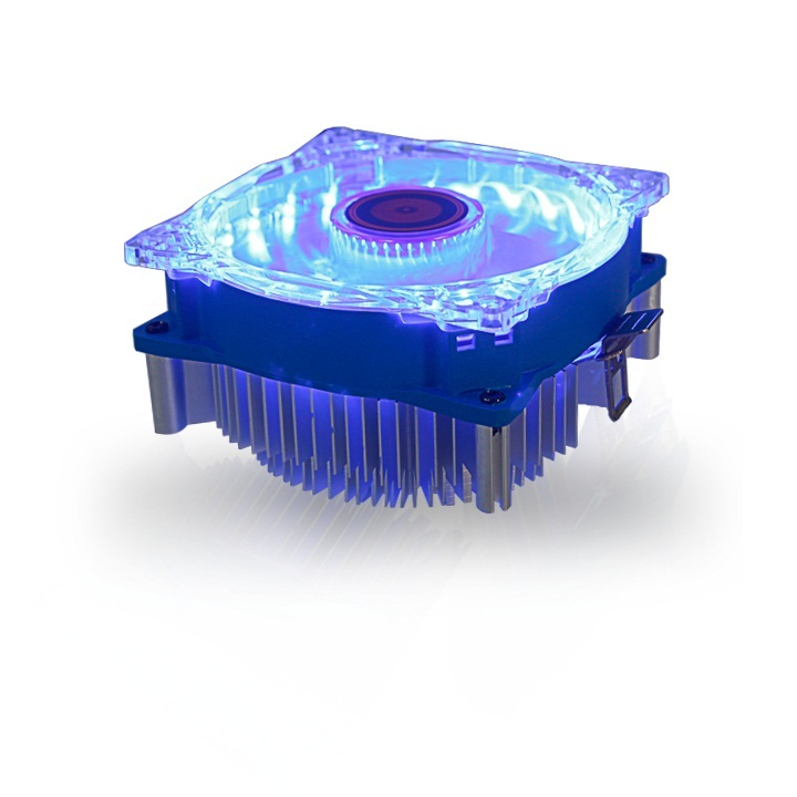 FAN CPU DIANA LED xanh  AMD/775/115X/I3/I5/7 -CPU2