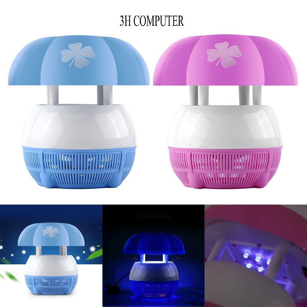 USB LED Electric Mosquito Fly Insect Repeller Killer Catcher Trap Lamp Ligh