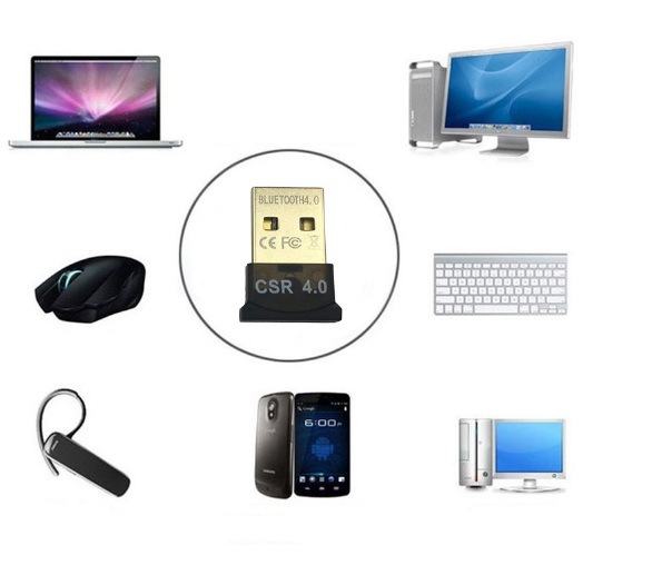 USB tạo Bluetooth mini cho PC và laptop 4.0 SCR Dongle